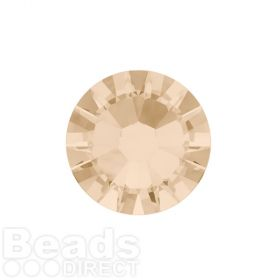2088 Swarovski Crystal Flat Backs Non HF 4mm SS16 Light Silk F Pk1440