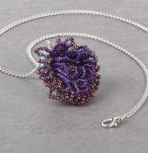 Flora Seed Bead Necklace