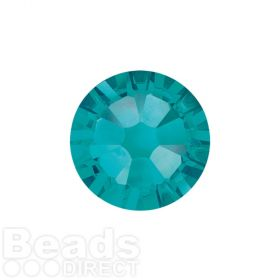 2088 Swarovski Crystal Flat Backs Non HF 4mm SS16 Blue Zircon F Pk1440