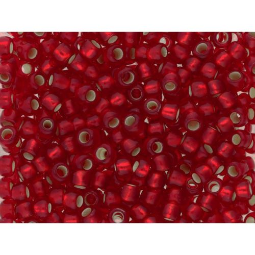 TOHO™ / Round 6/0 / Silver-Lined Frosted / Ruby / 10g / ~ 160pcs