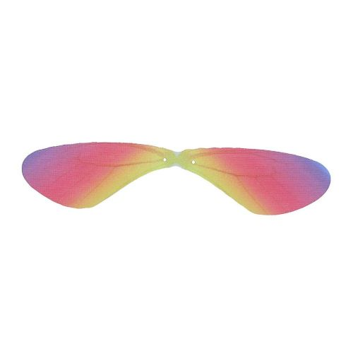 Dragonfly wings / organza / 85x18mm / multicoloured / 4pcs