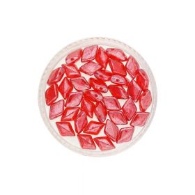 GEMDUO™ / 8x5mm / Luster / Siam Ruby / 5g / 35pcs