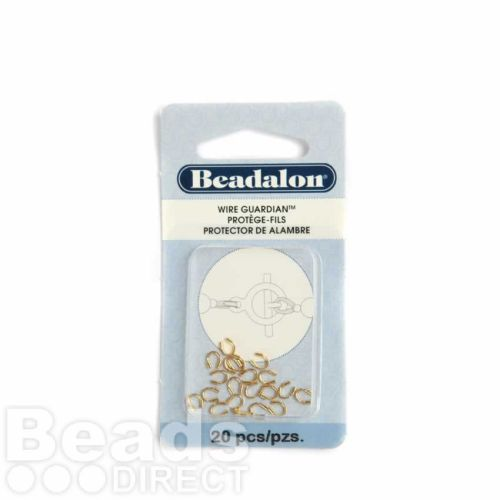 Beadalon Gold Plated Wire Guardian Pk20