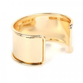 Gold Plated Bangle Base 73x55mm Space for Cord Diameter-167mm Pk1