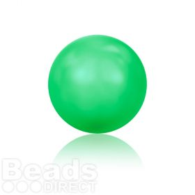 5810 Swarovski Glass Pearls 6mm Crystal Neon Green Pk500