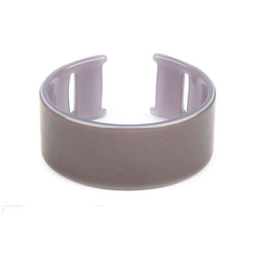 Silver Acetate Cuff Base With Holes 50x65mm Pk1