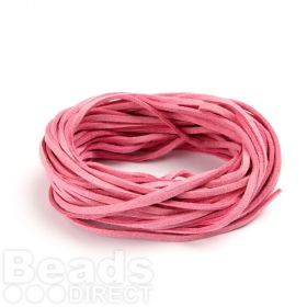 Suede Cord 2.5mm Pink 10m