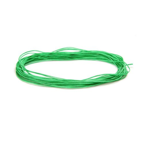 Satin Cord 0.5mm Green 5m