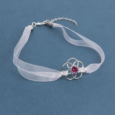 Crystal Rose Choker
