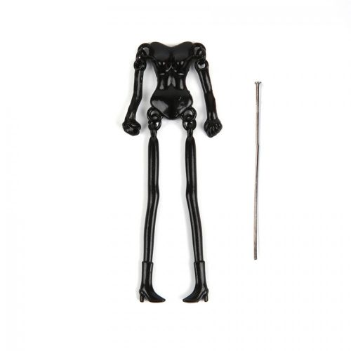 Black Plated French Doll Body Frame x1