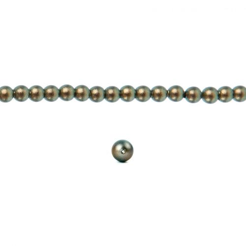 5810 Swarovski Glass Pearl 2mm Crystal Iridescent Green Pk100