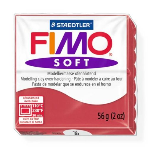 Staedtler Fimo Soft Polymer Clay Cherry Red 56g (1.97oz)
