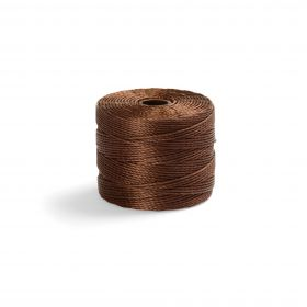 S-Lon Bead Cord 77yrds (70m) Brown