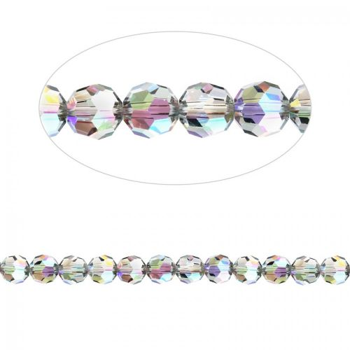 5000 Swarovski Crystal Faceted Rounds 3mm Crystal Paradise Shine Pk12