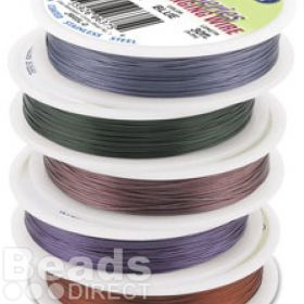Beadalon 7 Strand Flexible Beading Wire 6 Pack 0.015in 30ft