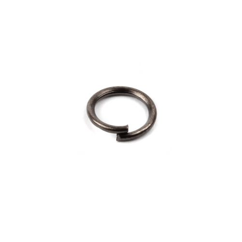 Gunmetal Plated Iron Jumprings 7mm 0.8mm Thick Pk100
