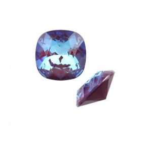 4470 Swarovski Crystal Square Fancy Stone 10mm Crystal Burgundy DeLite Pk1