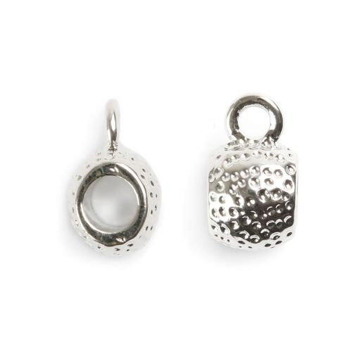 Titanium Plated Charm Carrier 5mm Pk1