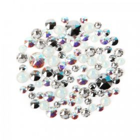 2088 Swarovski Crystal Non Hotfix Crystal Clear Mix 5g