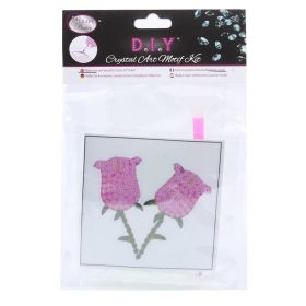 Craft Buddy Crystal Motif Kit 'Roses' with Tool