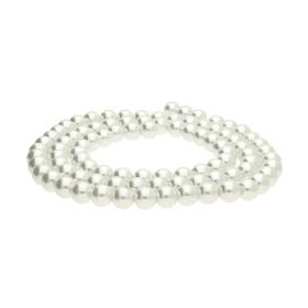 SeaStar™ / glass pearls / round / 10mm / off-white / 90pcs