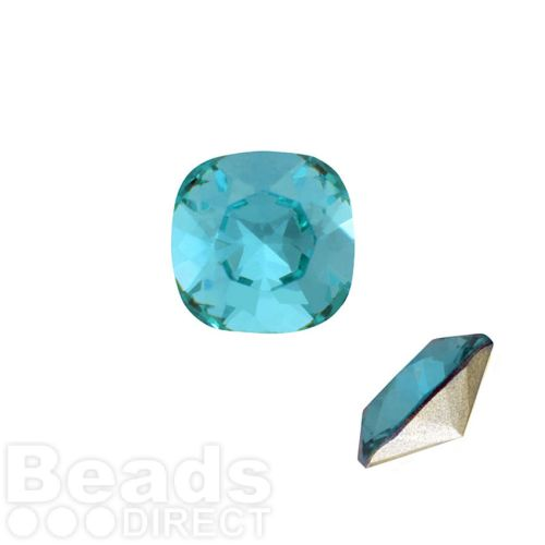 4470 Swarovski Crystal Square Fancy Stone 12mm Light Turquoise F Pk1