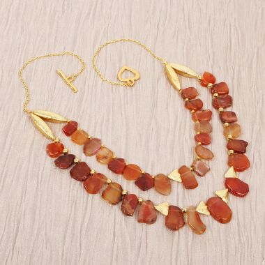Golden Sunset Necklace