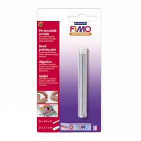 Staedtler Fimo Bead Piercing Pins for using with Polymer Clay Pk1