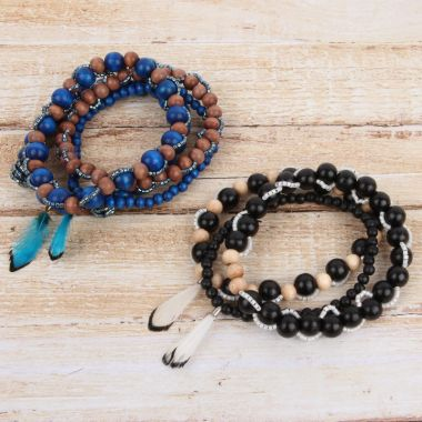 Wooden Bead Bracelet | Take a Make Break