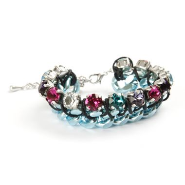 Aurora Ice Bracelet in Blue