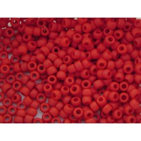 TOHO™ / Round 8/0 / Opaque Frosted / Pepper Red / 10g / ~ 300 pcs
