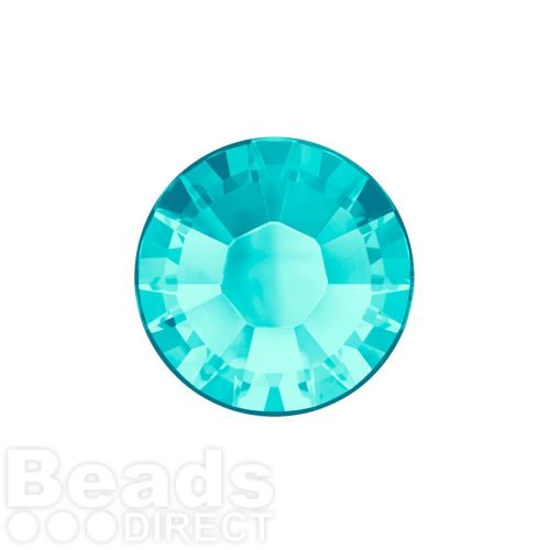 2078 Swarovski Crystal Hotfix Round 4mm SS16 Light Turquoise A HF Pk1440
