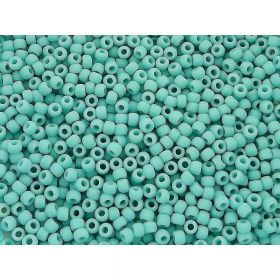 TOHO ™ / Round 11/0 / Opaque Frosted / Turquoise / 10g / ~ 1100pcs