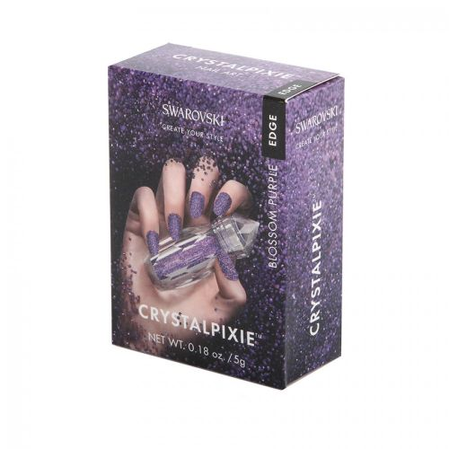 Swarovski CrystalPixie Edge Nails 'Blossom Purple' 5g