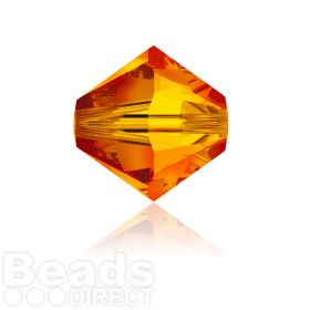 5328 Swarovski Glass Beads 6mm Fireopal Pk360