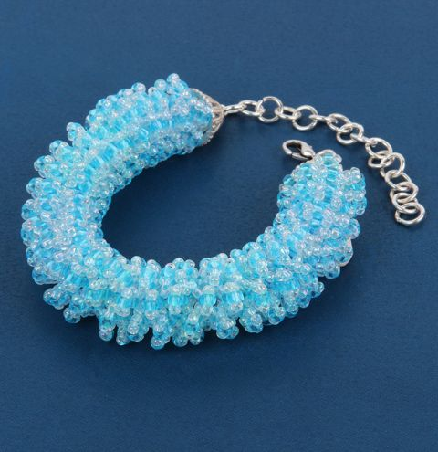 Winter Ripple Bracelet
