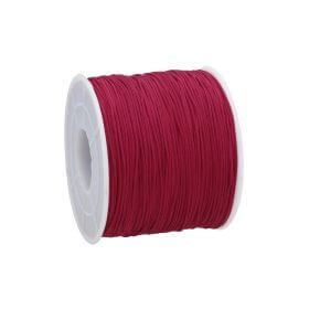 Macramé™ / Macramé cord / nylon / 0.6mm / dark red / 135m