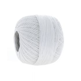 YarnArt ™ / Canarias twist / 100% Cotton / mercerized / color 0000 / white / 20g / 203m