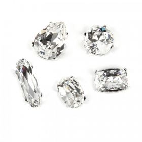 Swarovski Crystals & Settings Assorted Shapes Crystal F Pk5