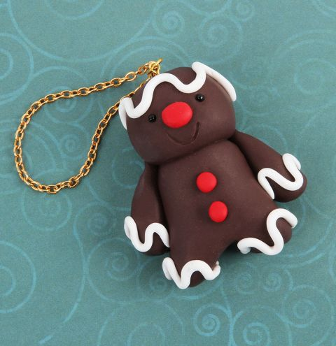 Novelty Christmas Gingerbread Man Decoration