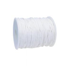 Waxed cord / 1.5mm / white / 72m