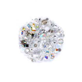 Swarovski Vintage Bead Mix - Moonlight 25g