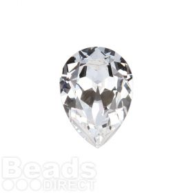 4320 Swarovski Crystal 13x18mm Drop Fancy Stone Crystal F Pk1