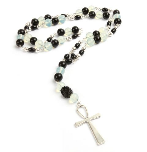 'Ankh Rosary' Necklace