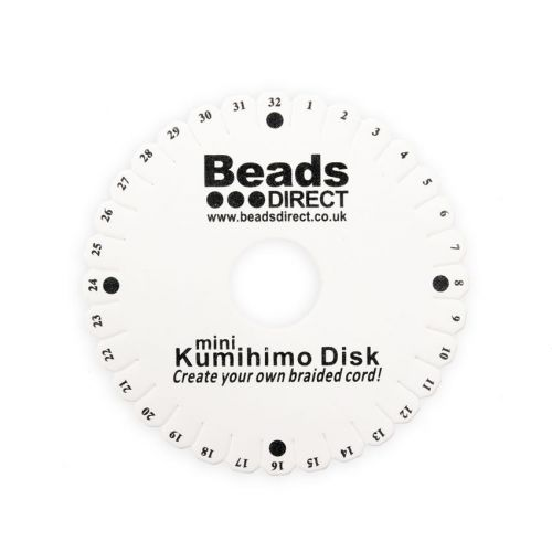 X-Beads Direct Kumihimo Small Round Disk 4.25 Inch Pk1
