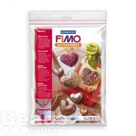 Staedtler Fimo Clay Mould 'Hearts'