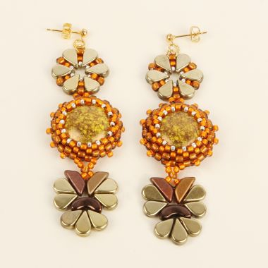 Bezel Treasures Earrings