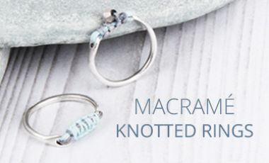 Macramé Knotted Ring | Mini Make Monday