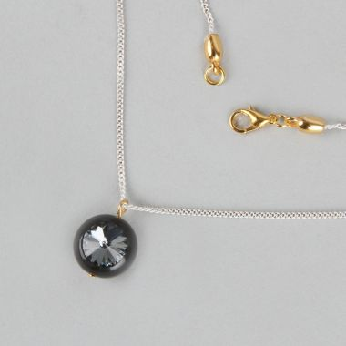 Sparkly Pluto Necklace