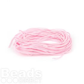 Satin Cord 0.7mm Light Pink 5m
